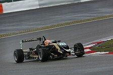 Formel 3 Cup - Markus Pommer gewinnt im Regen vom Lausitzring