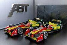 Formel E - ABT startet in das Abenteuer Formel E