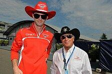 Formel 1 - Manor Marussia befördert Rossi in ein F1-Cockpit