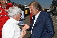 Formel 1 - Montezemolo fordert Experten für die F1