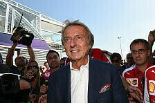 Formel 1 - Di Montezemolo: Ferrari hat 2015 auch Glück