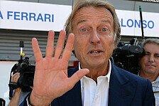 Formel 1 - Montezemolo wehrt sich gegen Marchionne-Kritik