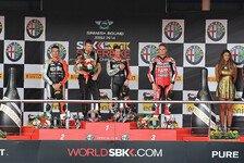 Superbike - Melandri nach doppeltem Triumph überglücklich