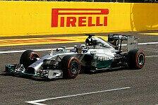 Formel 1 - Mercedes testet in Silverstone mit 2014er-Auto