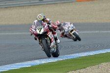 Superbike - Durchwachsener Renntag bei Ducati