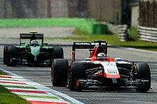 Formel 1 - Sollen die kleinen Teams mit alten Autos fahren dürfen?