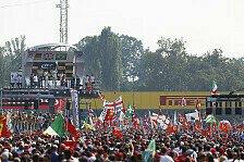 Formel 1 - Monza-Rettungsversuch mit Petition