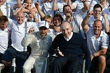 Formel 1 - Frank Williams: Wieder fit und voller Tatendrang