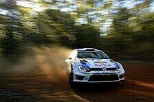 WRC - VW-Piloten nach Shakedown euphorisch