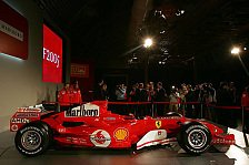 Formel 1 - Ferrari beginnt Tests mit dem F2005