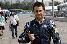 Formel E - Premieren-Pole für Nicolas Prost
