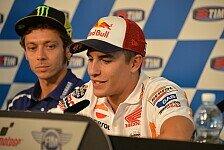 MotoGP - Marquez nach Rossis Attacke: Vale spürt den Druck