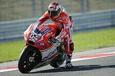MotoGP - Dovizioso: Viel höheres Risiko als sonst