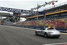 Formel 1 - Virtuelles SC: Überarbeitete Version in Brasilien