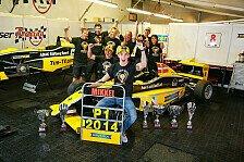 ADAC Formel Masters - Neuhauser: Riesengroße Freude nach Titelgewinn