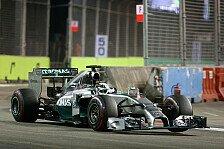 Formel 1 - Singapur GP: Hamilton holt Sieg und WM-Führung