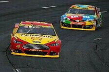 NASCAR - Logano siegt in der Verlängerung