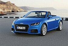 Auto - Neuer Audi TT ist die Design-Innovation des Jahres