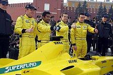 Formel 1 - Jordan möchte an den Top-10 schnüffeln