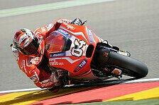 MotoGP - Dovizioso mit neuer Ducati nicht restlos zufrieden