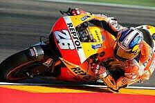 MotoGP - Pedrosa führt das Warm-Up an