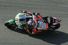 MotoGP - Bradl rast mit idealem Setup zu Rang drei