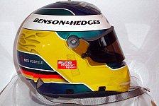 Formel 1 - Der Endspurt läuft: Ersteigern sie Nick Heidfelds Helm!