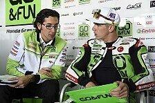 MotoGP - Gresini mit Problemen im Regen