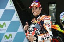 MotoGP - Pole-Rekord: Marquez zieht mit Stoner gleich