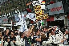 DTM - Marco Wittmann sichert BMW RMG den Team-Titel