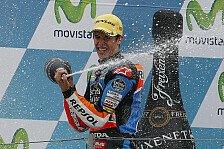 Moto3 - Marquez widmet Bianchi den Sieg