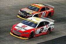 NASCAR - Pemberton: Handgreiflichkeiten nicht tragbar