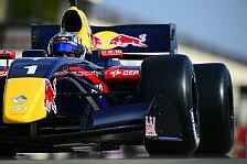 WS by Renault - Red-Bull-Junior Stoneman: Heftiger Test-Unfall