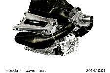 Formel 1 - Honda zeigt erstes Bild der Power Unit