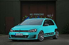 Auto - Car-Wrapping am VW Golf GTI