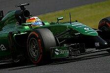 Formel 1 - Lopez über Caterham-Aktion: Einfach traurig