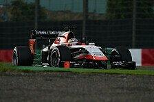 Formel 1 - Marussia klar von Caterham geschlagen