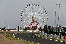 Formel 1 - Pirelli setzt Drücke fest: Rekordwerte für Japan