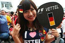 Formel 1 - Bilder: Japan GP - Die verrücktesten Fans in Suzuka 2014
