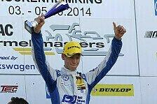 ADAC Formel Masters - Marschall siegt in letzter Minute in Hockenheim