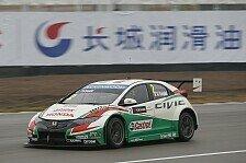WTCC - Chevrolet muss für Shanghai zuladen