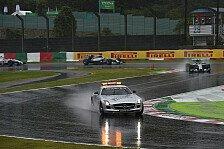 Formel 1 - Japan GP: Hamilton gewinnt Abbruchrennen