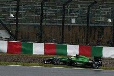 Formel 1 - Schwieriges Rennen für Caterham