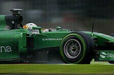 Formel 1 - Fünf Fahrer an Caterham-Cockpits interessiert