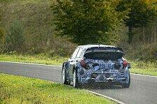 WRC - Hyundai: Erste Tests mit 2015er Auto