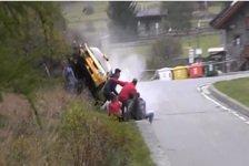 Mehr Rallyes - Video: Unfall bei Rallye im Aostatal