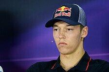 Formel 1 - Kvyat: Gemischte Gefühle beim Heimrennen