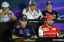 Formel 1 - Fahrer im Schockzustand: In Gedanken bei Bianchi