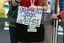 Formel 1 - Statement der Bianchi-Familie: Zustand unverändert