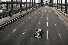 Formel 1 - Mark Webber überfuhr die Sydney Harbour Bridge